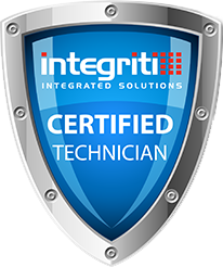Integriti certification shield